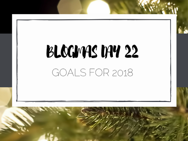 Blogging Goals for 2018