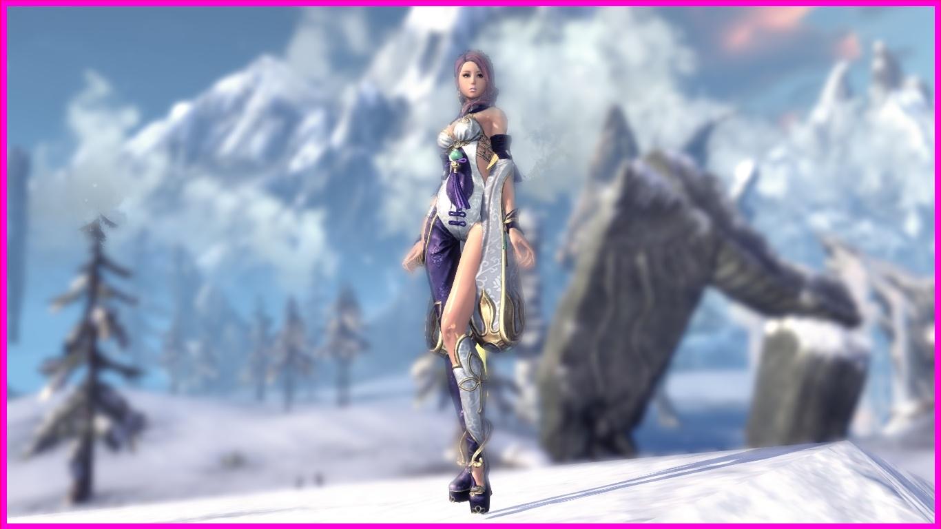 SkinXFormer's Skin Mod: Blade & Soul - Silken Splendor (Yun Outfit) Mod