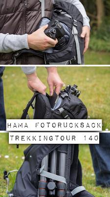 Gear of the Week #GOTW KW 16 | Hama Kamera-Rucksack Trekkingtour 140 | Wanderrucksack für Fotografen