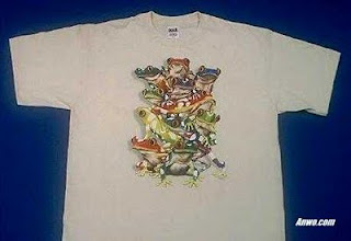 poison dart rainbow frogs t shirt