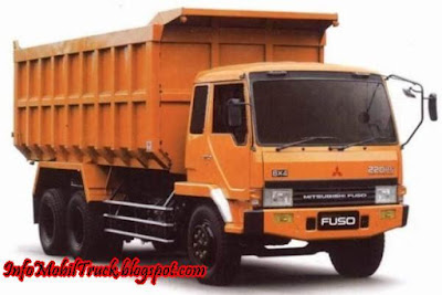 Dump truk mitsubishi fuso