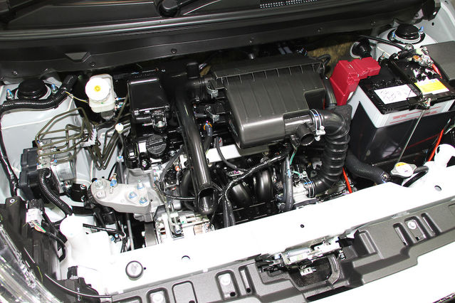 Dapur Pacu Mitsubishi New Mirage 2016