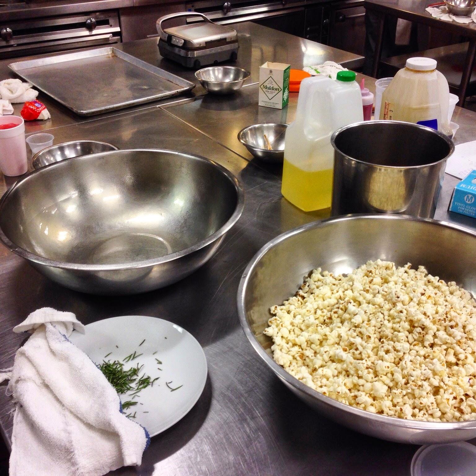 Caramel Popcorn Mise en Place