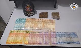 POLÍCIA MILITAR PRENDE COMERCIANTE DE CANANÉIA POR TRÁFICO DE DROGAS