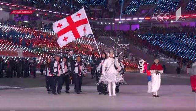 Открытие Олимпийский игр в Пхенчхане
