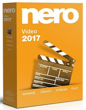 Nero Video 2017 v18.0.12000 poster box cover