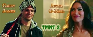 Casey Jones & April O-Neil from TMNT 2