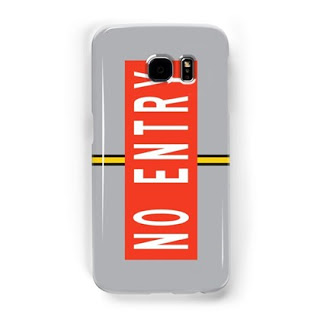 No Entry Marking Samsung Galaxy case