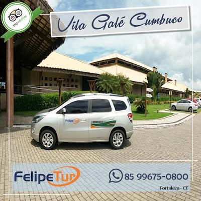 Qual é a distância do aeroporto de Fortaleza para Cumbuco
