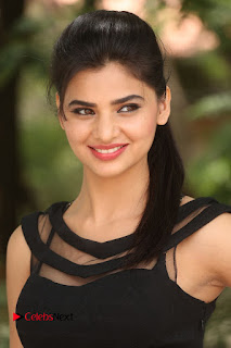 Actress Kamna Ranwat  Pictures in Black Short Dress at Selfie Raja Interview  0003