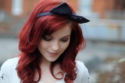 Red Hair Color Fashion: Hollywood Actress Red Hair color ...