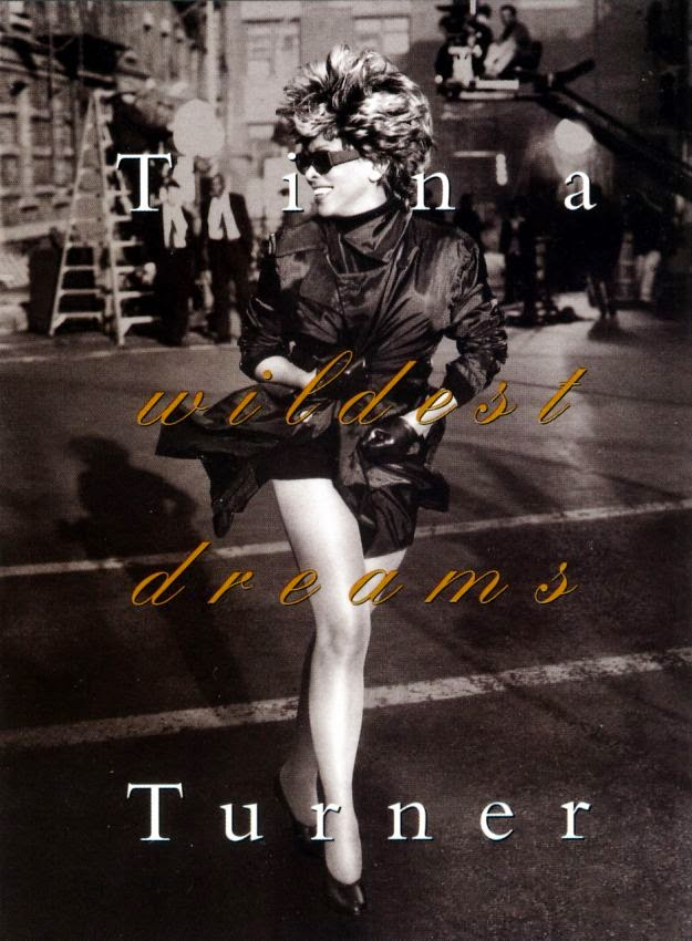 Tina Turner by Peter Lindbergh in a Hanes Promo Postcard (1996) | Ses Rêveries