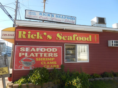 Rick's Takeout Seafood Restaurant in Wildwood New Jersey