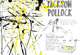 Let's make some great art: Pollock de Marion Deuchars
