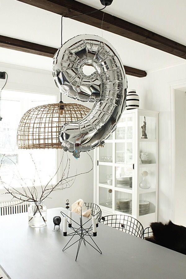 sifferballong, sifferballonger, ballong, ballonger, siffra, siffror, silver, guld, födelsedagskalas, tips, kalas, fest, födelsedag, webbutik, webbutiker, webshop, festtillbehör, tillbehör, annelisdesign, annelies design, interior, kök, köket,