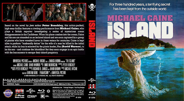The Island Bluray Cover