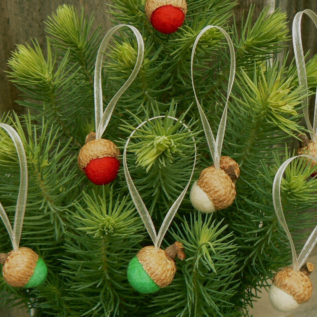 Making Natural Christmas Decorations: Shabby In Love: Natural Christmas Ornaments