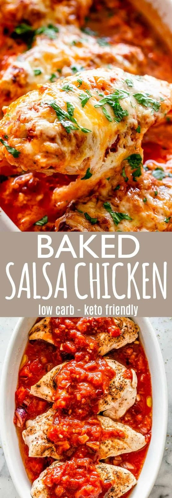 Baked Salsa Chicken