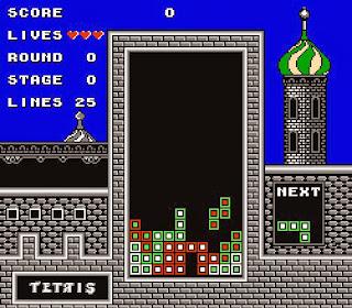 Imagen : Captura de pantalla 1 : Tetris de Bullet-Proof Software