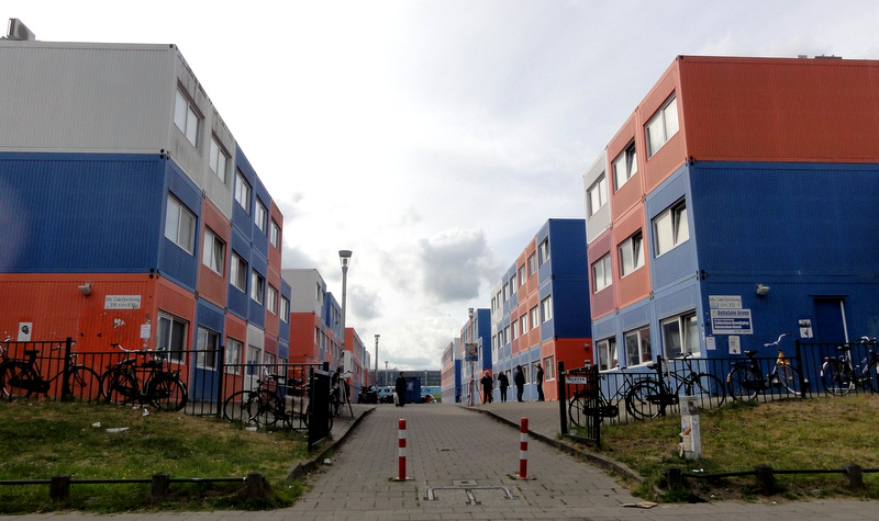 Hedendaags Keetwonen: Shipping Container Housing for Students in Amsterdam TH-38