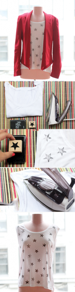 Easy Way To Add Stars on T-Shirt