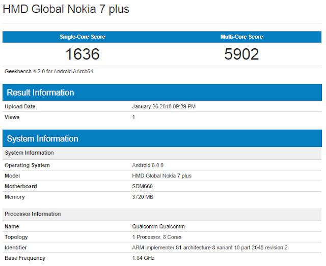 Nokia 7 Plus dengan Layar 6 Inci dan Dual Camera Lensa Carl Zeiss