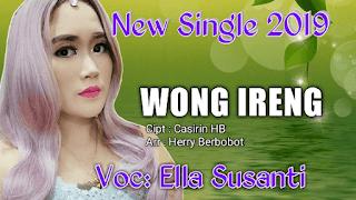 Lirik Lagu Wong Ireng - Ella Susanti