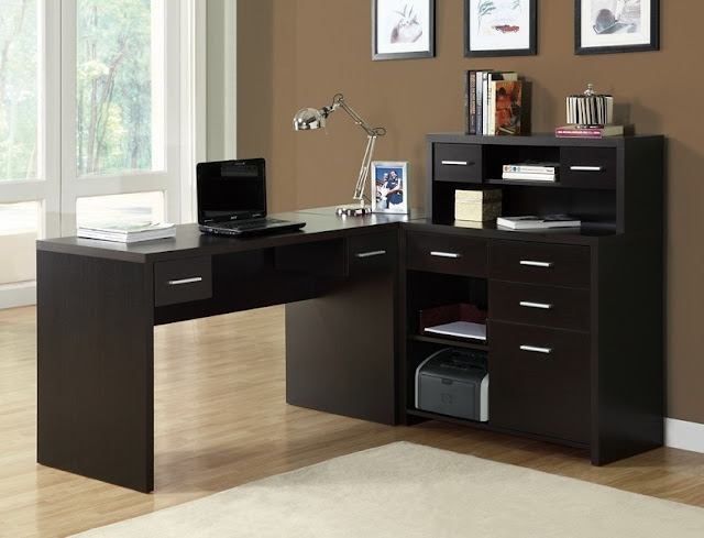 best buy cheap home office furniture Sydney l shaped for sale