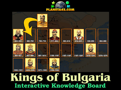 Великите Български Царе Учебна Игра