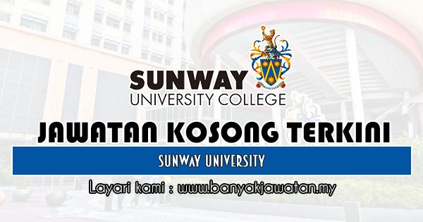 Jawatan Kosong 2020 di Sunway University