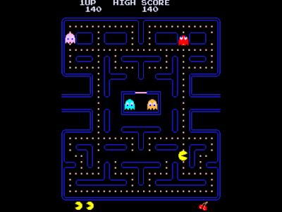 街機-小精靈(吃豆子、Pac-man)+金手指作弊碼,骨灰級經典益智遊戲!