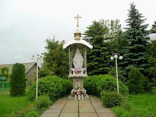 Руда. Скульптура Пресвятой Богородицы