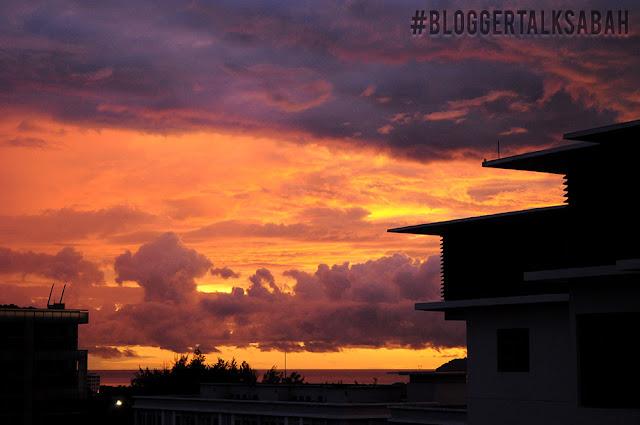 sunset kota kinabalu,Homestay Imago Luas, Mudah Nak Jalan Sakan Kat Kota Kinabalu