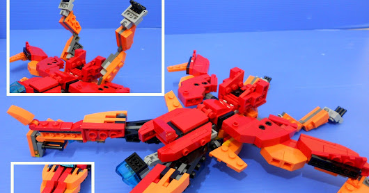 "LEGO ""The Last Autobot"" Part 2 of 2: Robot mode"