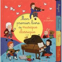 Mon premier livre de musique classique - Editions GRÜND
