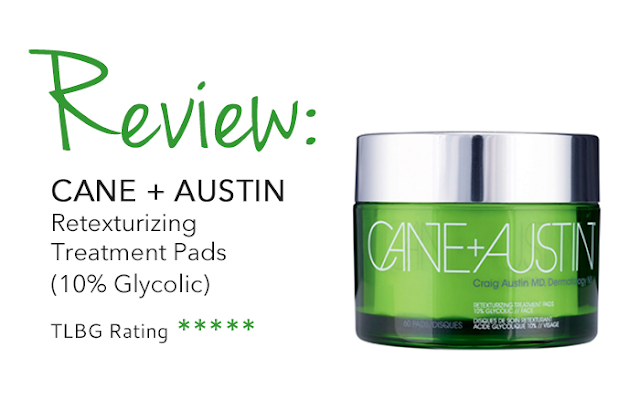 Review: Cane + Austin Retexturizing Pads