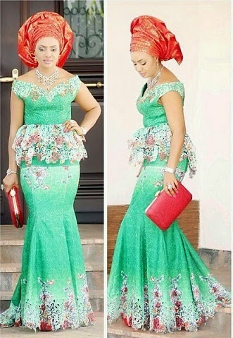 Fashions Latest African Lace Styles