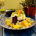 Panquecas de Alfarroba com Iogurte e Fruta