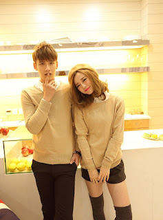 Sweater Cowok Korea