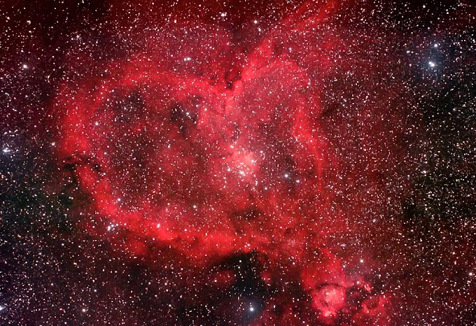 Happy valentine Day - the heart nebula | 14-02-2020 - image of the day