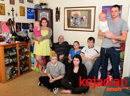 Ayah Pengangguran Istri 15 Dengan 26 Anak