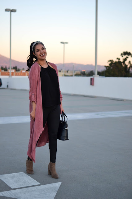 Gozon High-Low Duster Cardigan