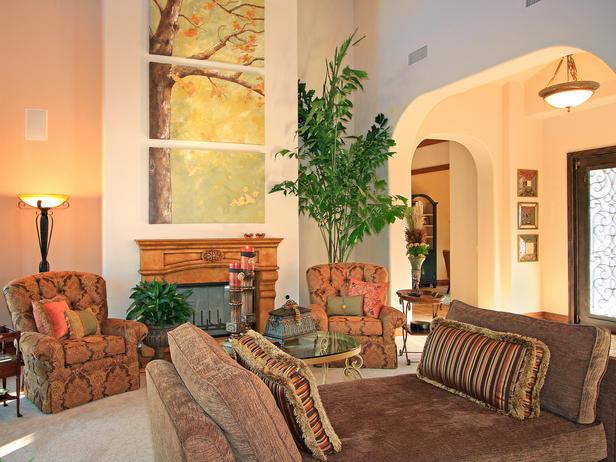 decoracao moderna Soluções verdes para cores de sua casa