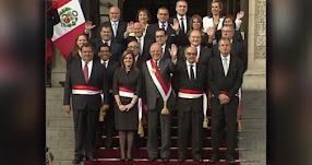 Estos son los Nuevos Ministros del Gabinete Aráoz que juramentaron hoy Domingo 17 Setiembre