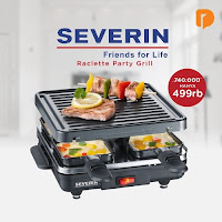 Dusdusan Severin Raclette Party Grill ANDHIMIND