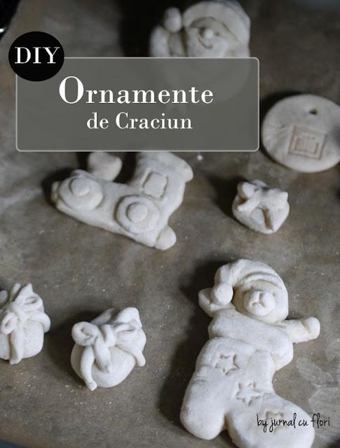 #DIY ornamente  figurine de #Craciun handmade din aluat nu din ghps sau fimo