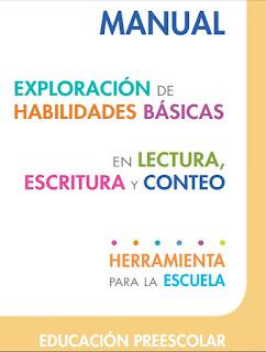 Exploración de habilidades básicas en lectura, escritura y conteo - Preescolar - SISAT