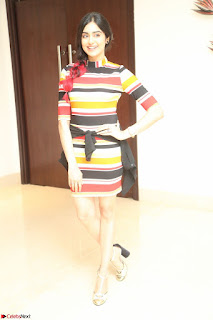 Adha Sharma in a Cute Colorful Jumpsuit Styled By Manasi Aggarwal Promoting movie Commando 2 (133).JPG