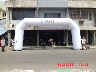 Balon Gate Start Finish