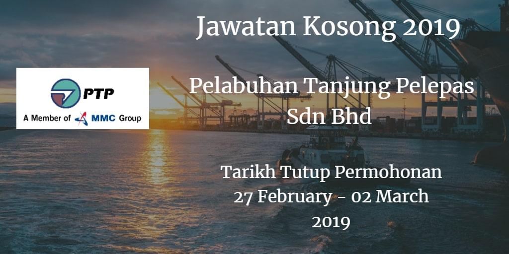 Jawatan Kosong PTP 27 February - 02 Marc 2019
